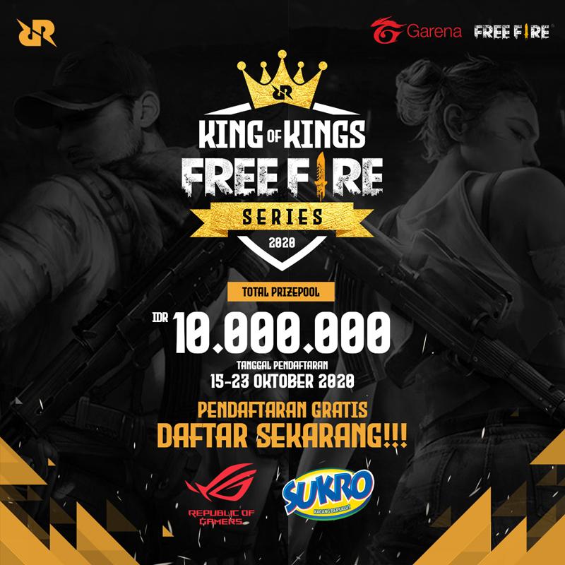 Turnamen Amatir King of Kings Free Fire Series!