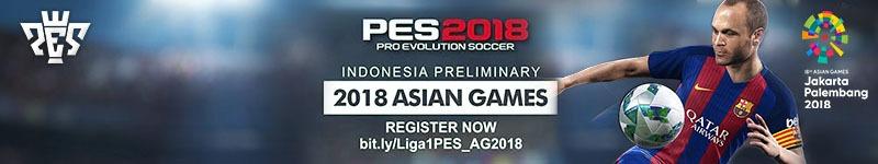 Kualifikasi PES untuk Asian Games 2018