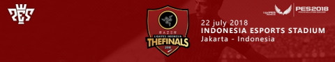 Razer Liga1PES Indonesia The Finals 2018