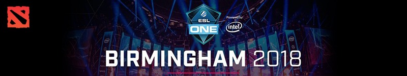 ESL One Birmingham 2018