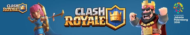 Kualifikasi Clash Royale untuk Asian Games 2018